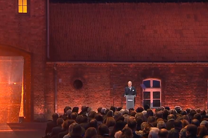 WATCH: WJC President Lauder commemorates 75 years since Auschwitz liberation