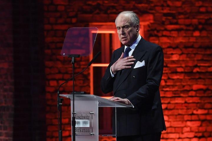WATCH: WJC President Lauder commemorates Auschwitz liberation
