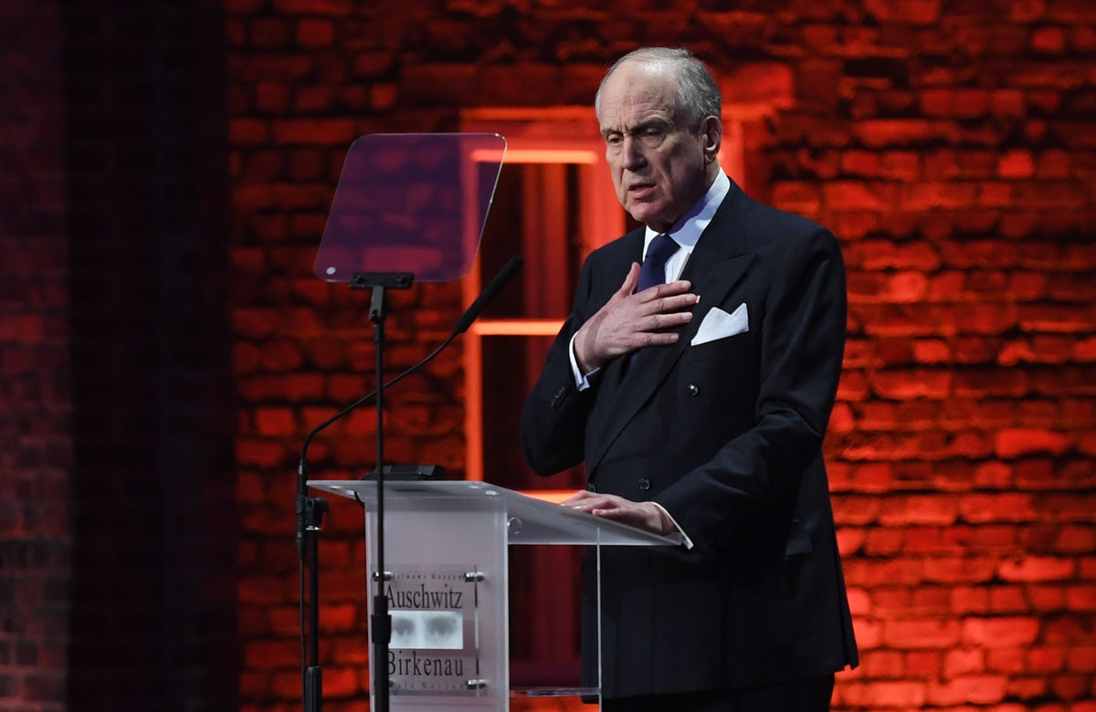 President Lauder: I don't think the world has forgotten the Holocaust. But we still have a lot to learn