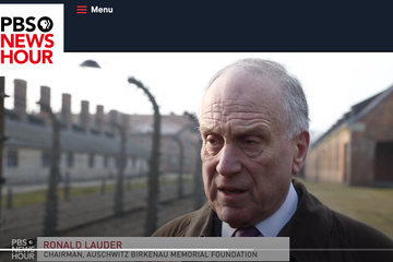WJC President Ronald S. Lauder on PBS