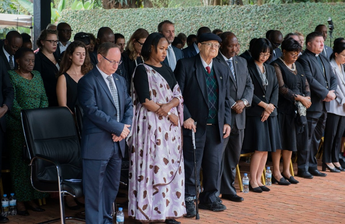 Marking Holocaust Remembrance Day ceremony in Rwanda, WJC Jewish Diplomat urges world to stand up against hatred