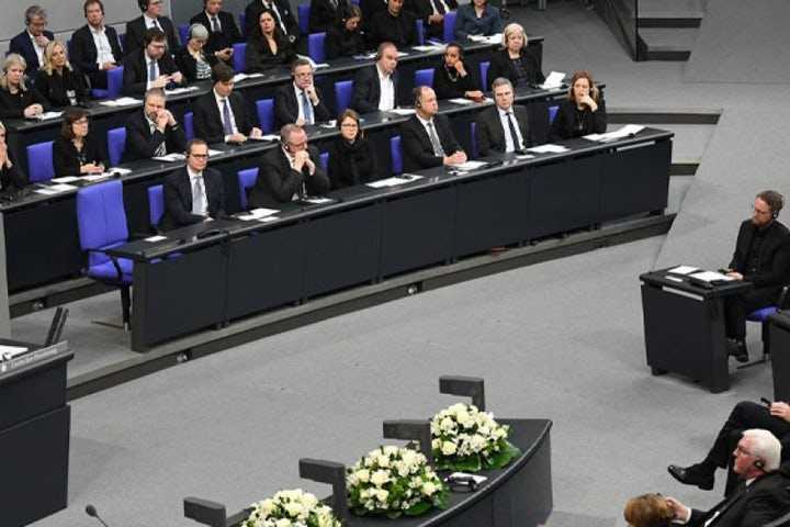 Israeli President Reuven Rivlin addresses special Bundestag session in memory of Holocaust victims