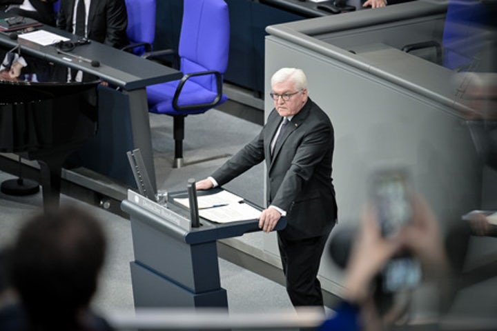 Address by German Federal President Frank-Walter Steinmeier at special Bundestag session for Holocaust victims