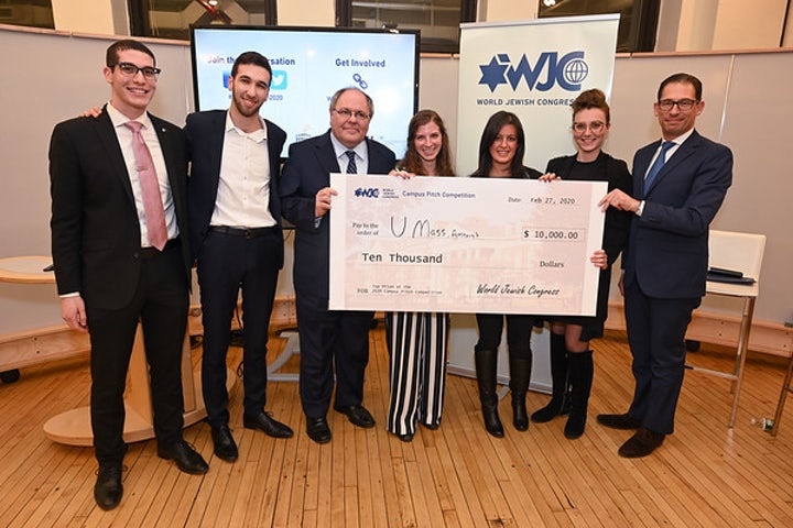 UMass student wins WJC's 2020 Campus Pitch Competition