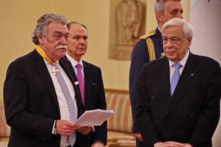 Greece Jewish community president awarded national honors