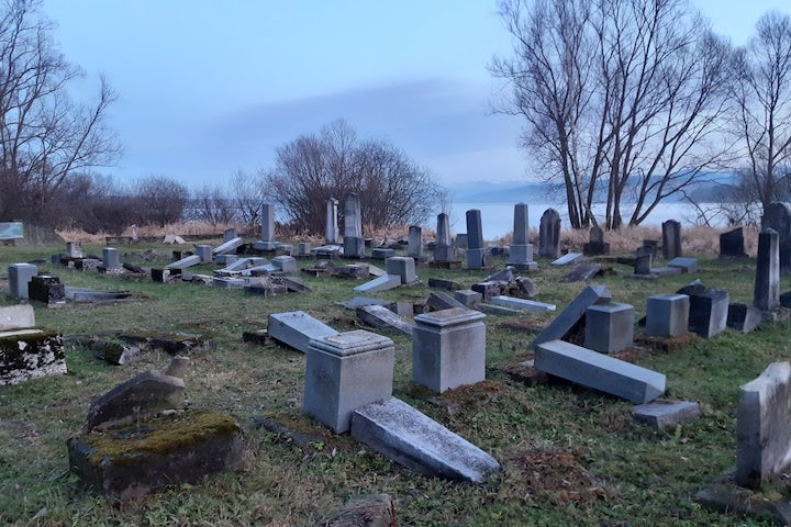 Jewish cemeteries are threatened. These people are guarding them.