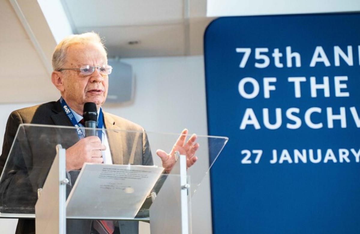 WATCH | Mordecai Paldiel's testimony from Auschwitz-Birkenau, January 2020