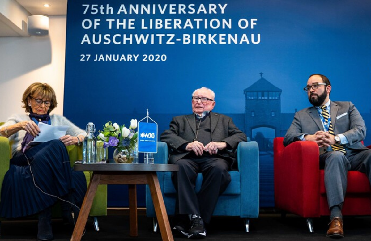 WATCH | WJC Panel Discussion on Preserving Holocaust Memory, January 2020