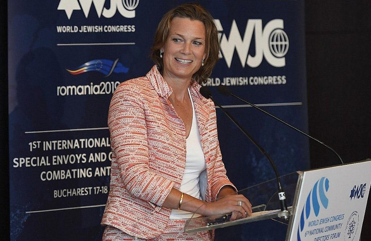 WJC WebTalk   European Commission Coordinator for Combating Antisemitism Katharina von Schnurbein