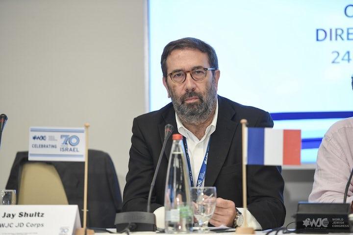 WJC WebTalk, France   Crif Executive Director Robert Ejnes