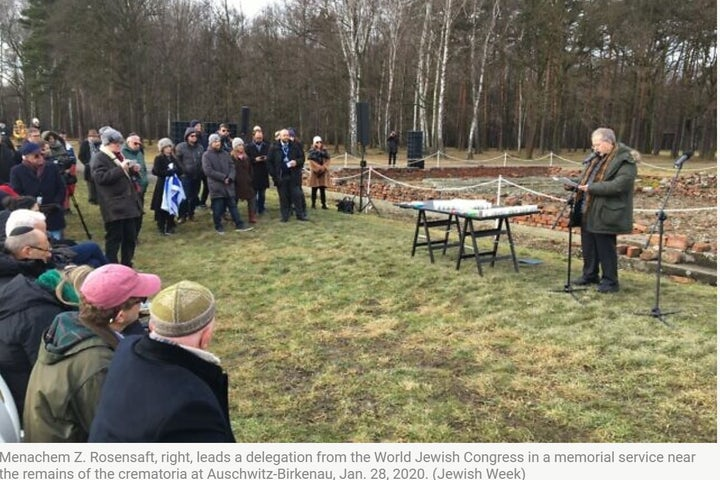 Marking Holocaust Remembrance Day in the time of Covid-19