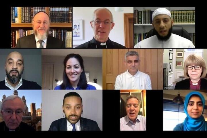 Sadiq Khan joins Chief Rabbi Mirvis and other faith leaders for virtual Iftar - Jewish News