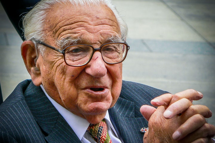 Who was Nicholas Winton? Today's Google Doodle marks the birthday of 'Britain's Schindler' - Evening Standard