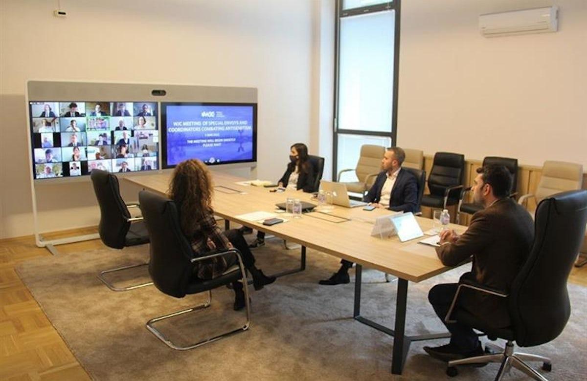 WJC hosts forum for Special Envoys & Coordinators Combating Antisemitism (SECCA)