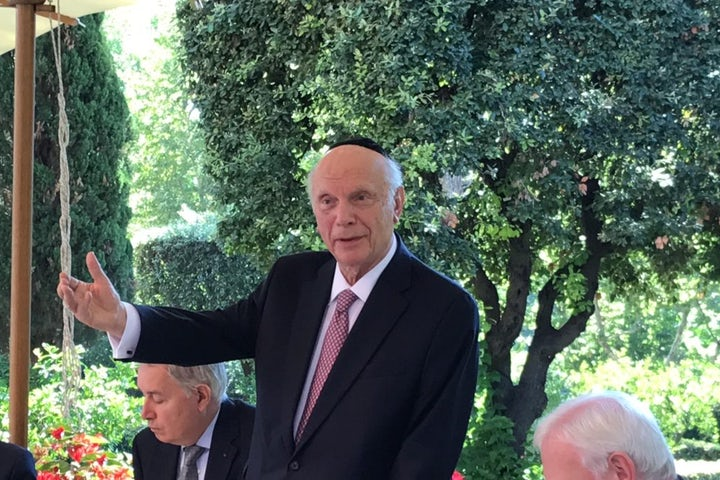 Rabbi Arthur Schneier: A giant turns 90