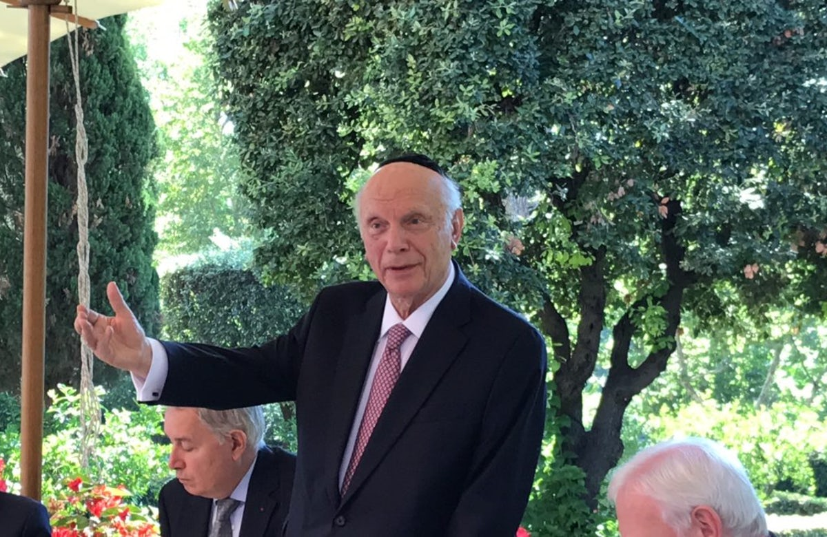 Rabbi Arthur Schneier: A giant turns 90