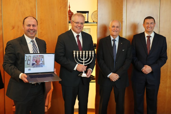 Executive Council of Australian Jewry honors Prime Minister Scott Morrison for leadership during COVID-19 - The Australian Jewish News