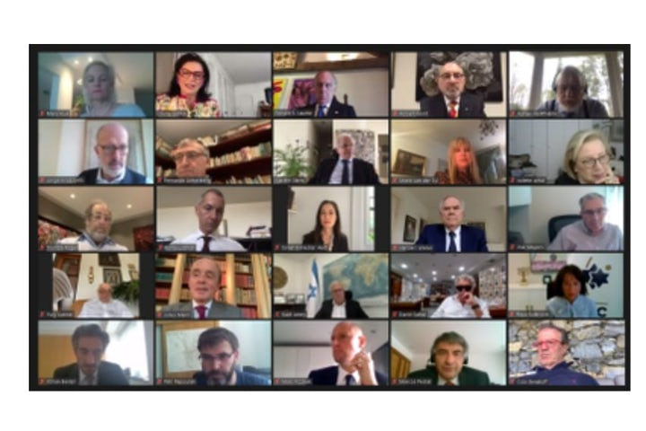 WJC Executive Committee holds first-ever virtual gathering