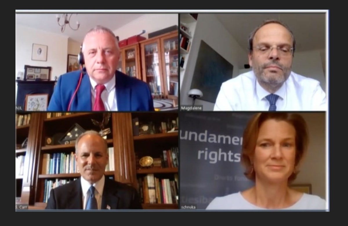 """WJC underscores President Lauder's call for """"a renaissance of Jewish solidarity"""", at Jerusalem Post virtual conference"""