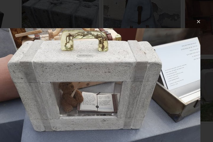 New Holocaust memorial unveiled in Germany: Abandoned suitcases filled with empty dreams