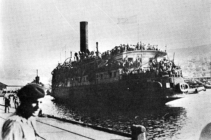 """This week in Jewish history   Exodus 1947: """"The Ship that Launched a Nation"""""""