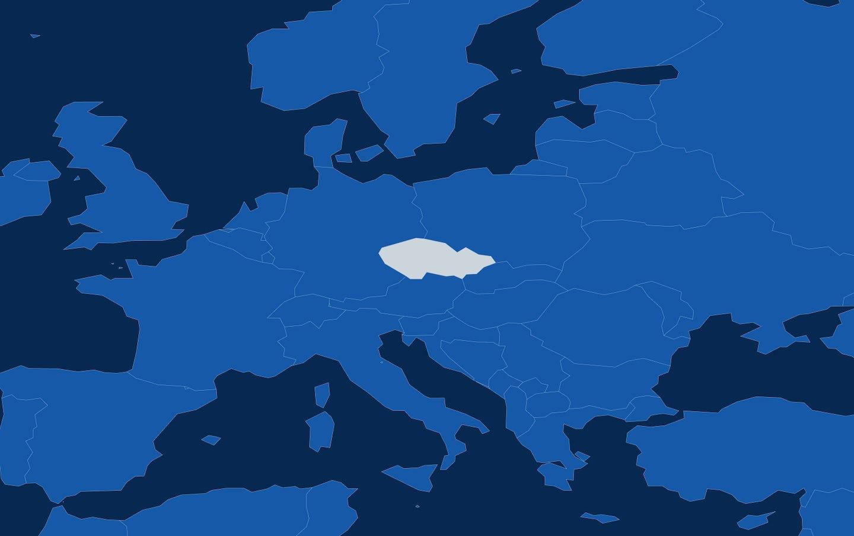 Map checz republic