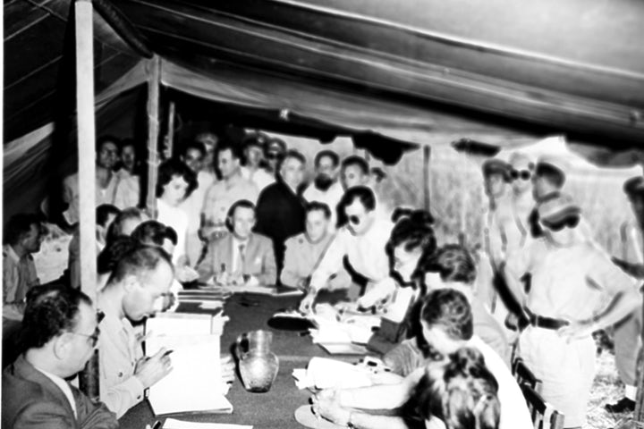 This week in Jewish history   Israel signs armistice agreement with Syria to end War of Independence