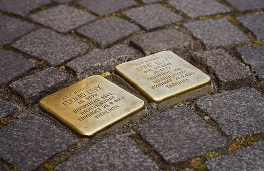 Stolpersteine: The stumbling stones in memory of Holocaust victims
