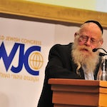 The World Jewish Congress mourns the death of Rabbi Adin Steinsaltz