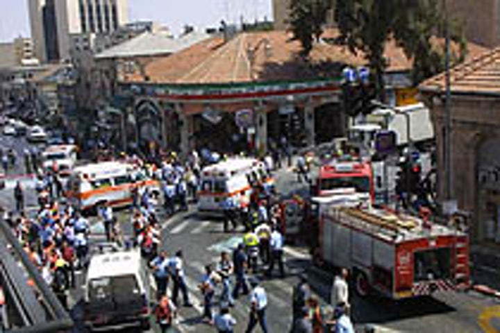 This week in Jewish history   Sbarro suicide bombing kills 15, wounds 130