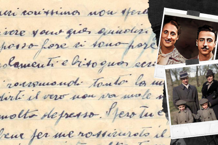 Secret letters of a Jewish family torn apart by the Holocaust rediscovered
