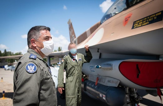 Israeli Air Force holds joint drill with German air force