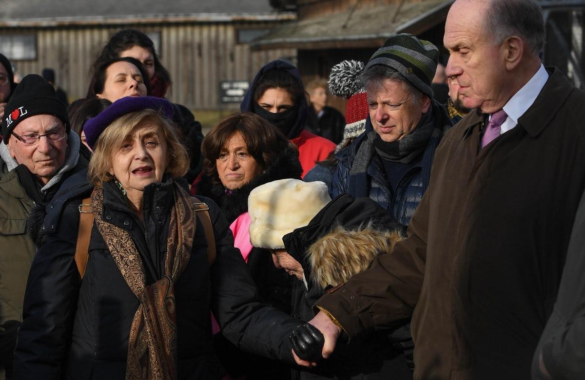 WJC President Ronald S. Lauder builds community of Auschwitz-Birkenau Survivors