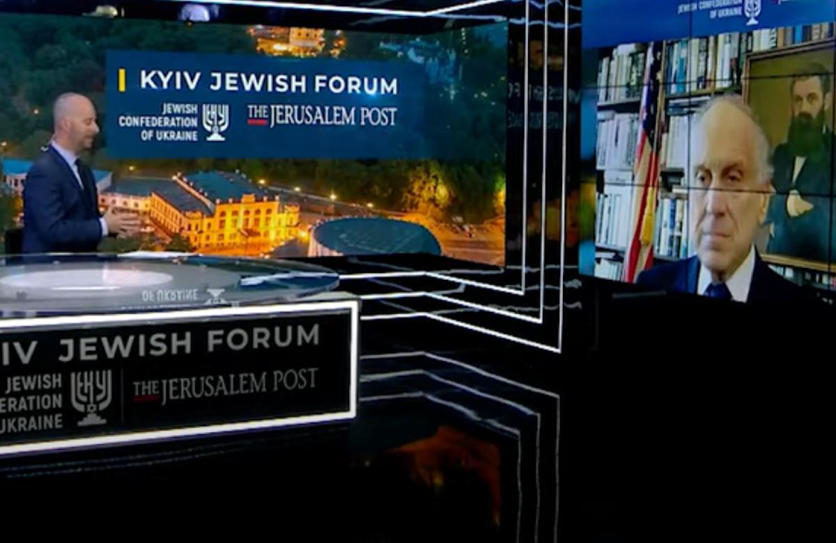 WJC President Ronald S. Lauder addresses Kyiv Jewish Forum