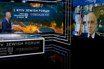 WJC President Ronald S. Lauder addresses Kyiv Jewish Forum