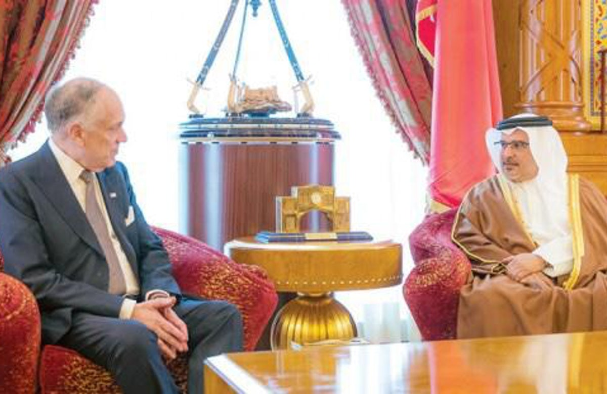 Ronald S. Lauder welcomes agreement between Israel and Kingdom of Bahrain