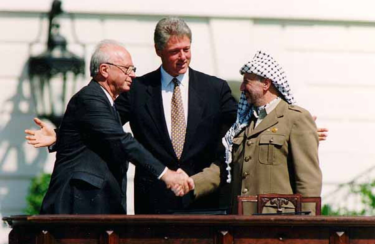 This week in Jewish history   Oslo Accords are signed