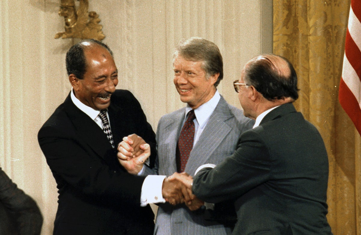 This week in Jewish history   Israel and Egypt sign Camp David Accords