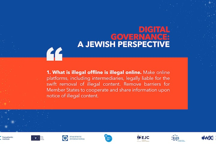 World Jewish Congress and major Jewish organizations launch unified position on tackling antisemitism online