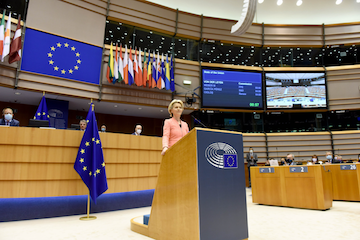 EU Commission President denounces antisemitism in State of the European Union address