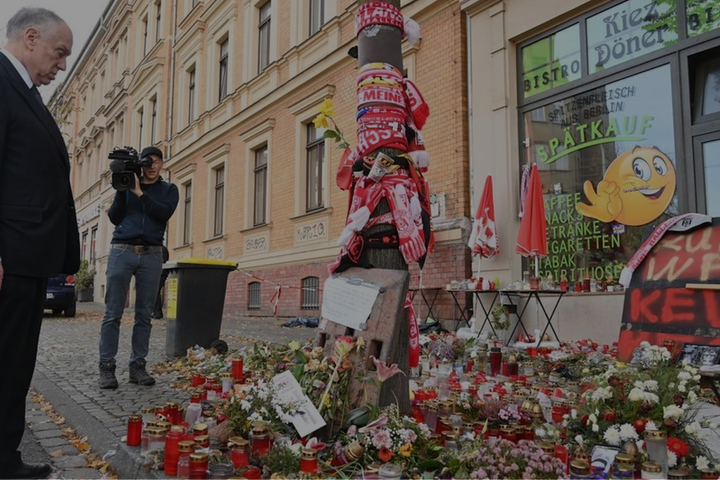 Remembering the attack on Halle, Germany, one year later