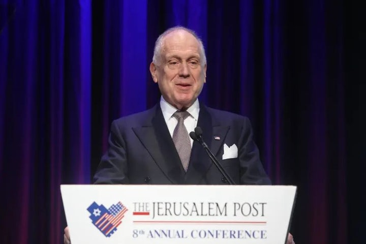 WATCH | WJC President Ronald S. Lauder: Only Jewish education can save the Diaspora