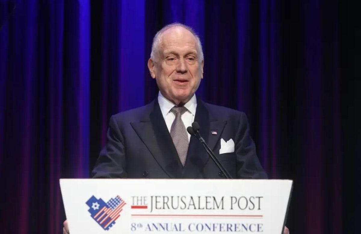 WJC President Ronald S. Lauder speaks at the Jerusalem Post Annual Conference: 'Jews around the world must step up, and we must act as one'