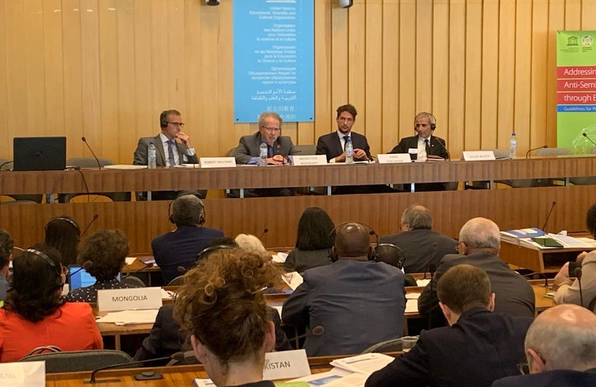 UNESCO, OSCE, and WJC hold international workshop to train policymakers on addressing antisemitism in and through education