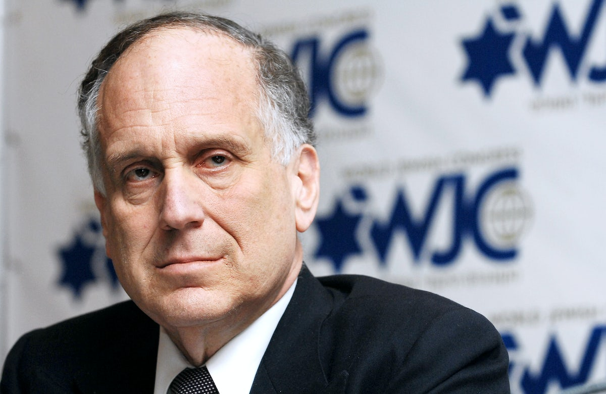 WJC President Ronald S. Lauder responds to Israeli education minister's remarks comparing intermarriage to 'second Holocaust'