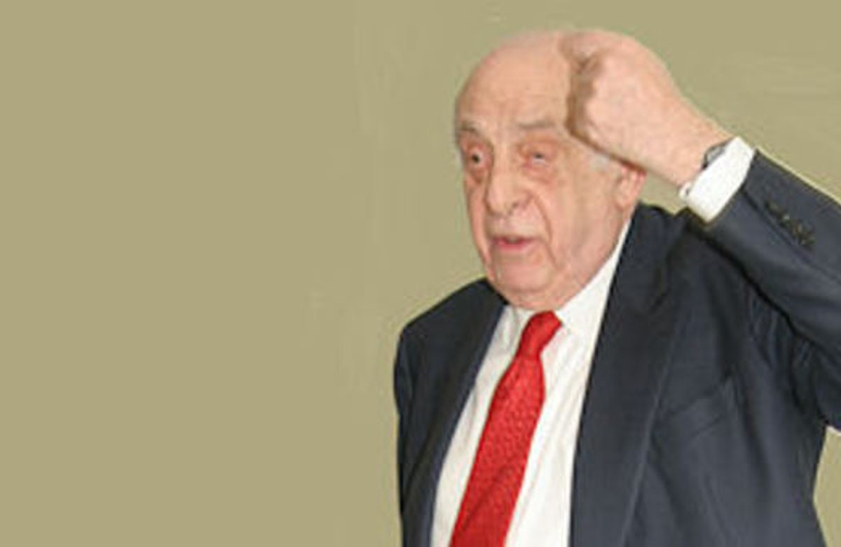 Belgian Jewish leader David Susskind passes away