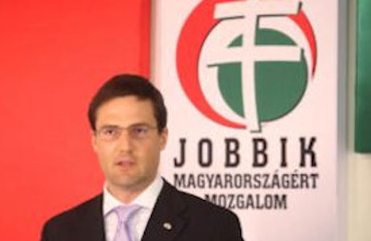 Leading official of Hungarian extremist party accuses Jews of colonializing country