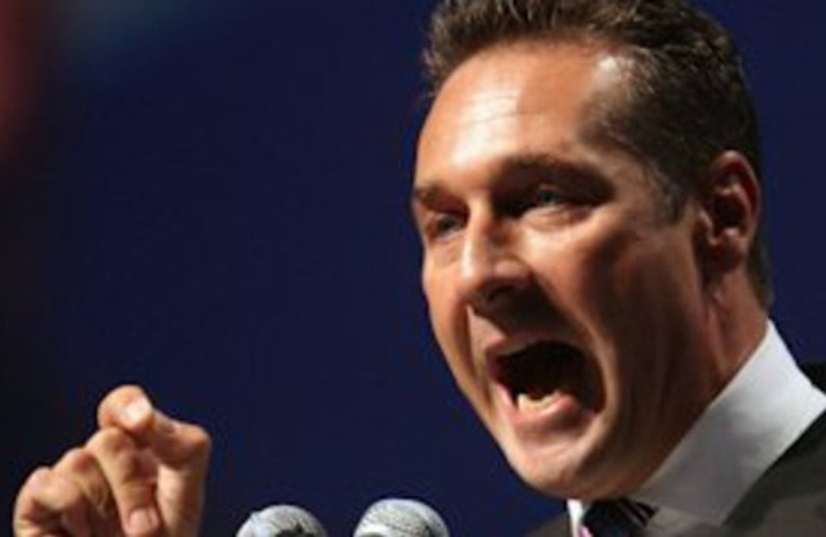 Far-right party leader in Austria lambasted for posting anti-Semitic cartoon on Facebook