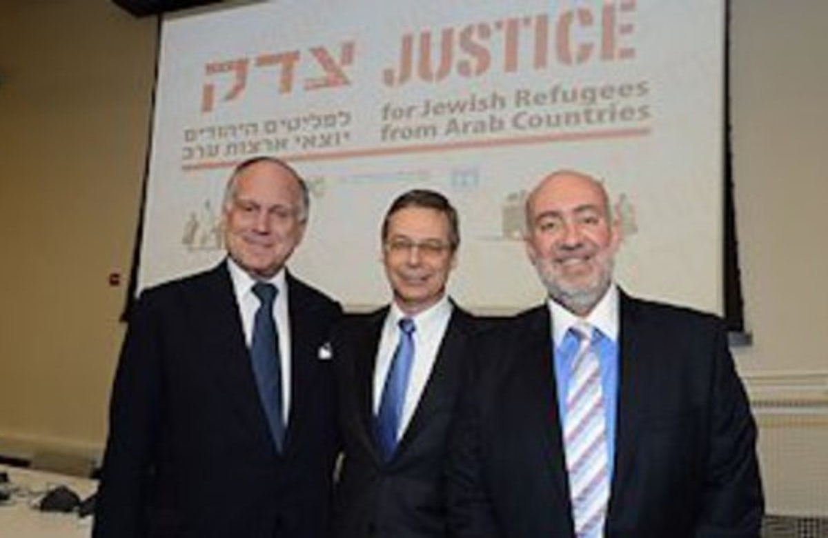 Peace only possible if plight of Jewish refugees from Arab countries is addressed, Lauder tells UN