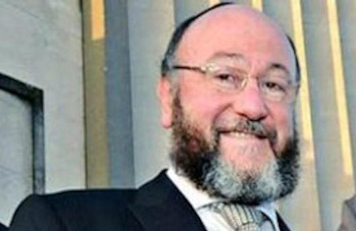 Ephraim Mirvis chosen as new UK chief rabbi